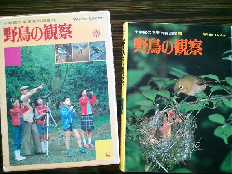 図鑑「野鳥の観察」